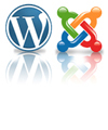wordpress & joomla CMS